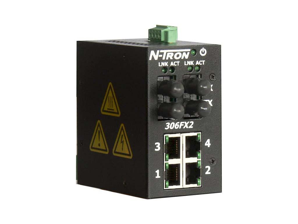 306FX2-N-ST - Průmyslový Ethernet Switch