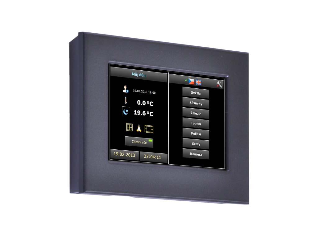 ID-31, kapacitní dotykový panel na zeď