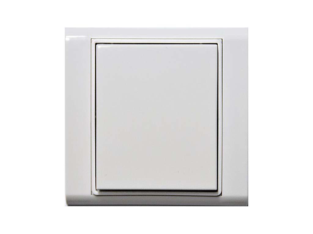 R-WS-0200R-Time; bílá/bílá, RFox, Ovladač s krátkocestným ovládáním, 2 tlačítka, komplet