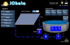 Ovládání bazénu v chatě v Ochozu u Brna