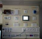 Testovací panel pro výuku systému Tecomat Foxtrot - Ostravská univerzita, Česká republika